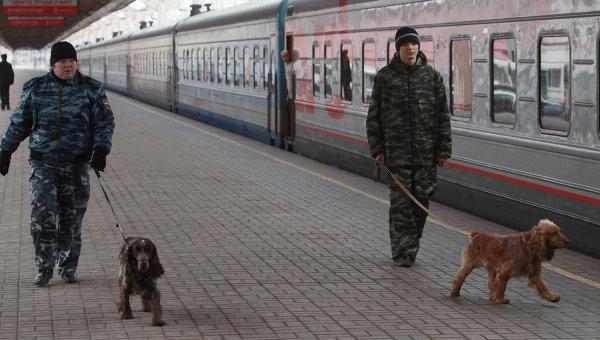 На Ленинградском вокзале в Москве. Архивное фото