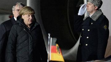 Канцлер ФРГ А.Меркель. Архивное фото