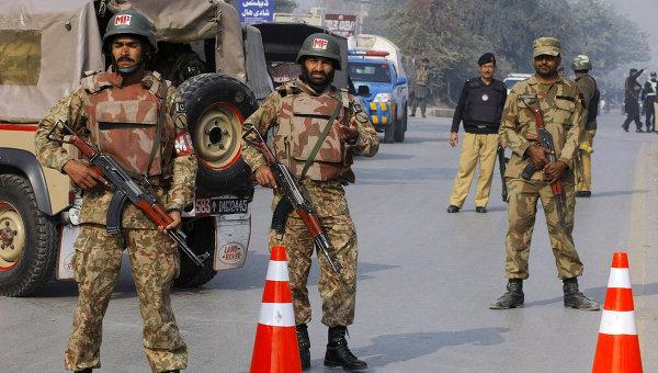 Пакистанские военные. Архивное фото
