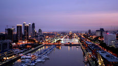 Вид на Буэнос-Айрес. Архивное фото