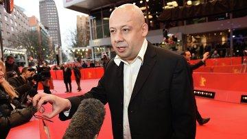 Режиссер Алексей Герман младший на премьере фильма Под электрическими облаками  на Берлинале - 2015