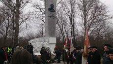Акция памяти генерала Черняховского. Архивное фото