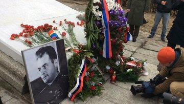 Память погибшего при освобождении Польши генерала Черняховского почтили в Пененжно. Архивное фото