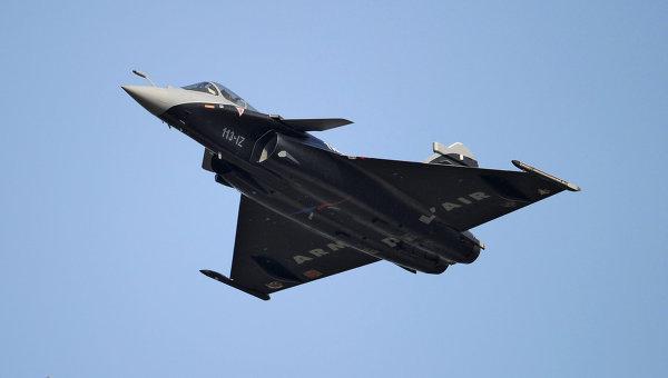 Французские многоцелевые истребители Dassault Rafale. Архивное фото