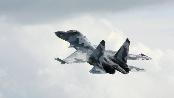 Истребитель Су-30 МКИ. Архивное фото