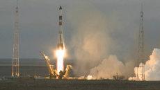 Прогресс М-26М стартовал с Байконура с грузом для МКС. Кадры запуска