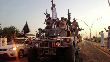 Боевики ИГИЛ в Ираке. Архивное фото