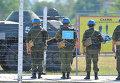 Военнослужащие принимают участие в учениях Оперативной группы российских войск