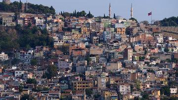 Вид на город Измир. Турция