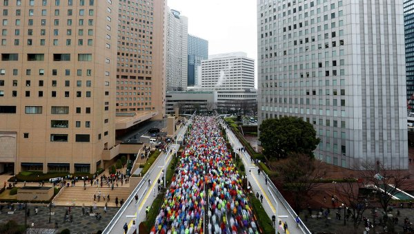 Токийский марафон, 22 февраля 2015