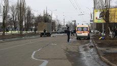 В Харькове во время шествия прогремел взрыв