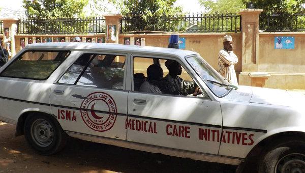 Машина скорой помощи в Нигерии. Архивное фото