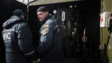 Сотрудники МЧС Донецкой народной республики (ДНР). Архивное фото