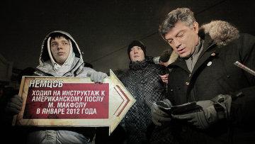 Сопредседатель незарегистрированной Партии народной свободы (ПАРНАС) Борис Немцов