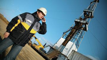 Нефтяная вышка ОАО НК Роснефть. Архивное фото