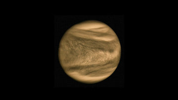 "Темная буква ""Y"" на экваторе Венеры"