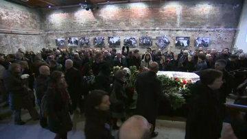 Прощание с Борисом Немцовым в Москве. Кадры церемонии