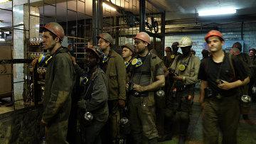 Шахтеры донецкой шахты имени Засядько. Архивное фото