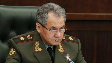 Министр обороны РФ генерал армии Сергей Шойгу. Архивное фото