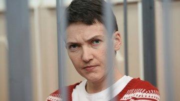 Украинская летчица Надежда Савченко, обвиняемая в причастности к убийству российских журналистов. Архивное фото