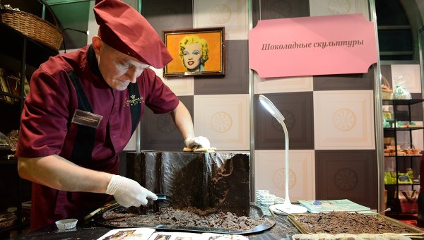 Московский Салон шоколада. Архивное фото