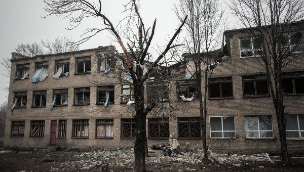 Ситуация в городе Дебальцево. Архивное фото