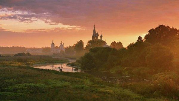 Николай Сапронов Теплое утро, фотография, представленная на выставке Душа России