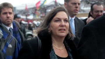 Помощник госсекретаря США Виктория Нуланд в Киеве. 2013 год