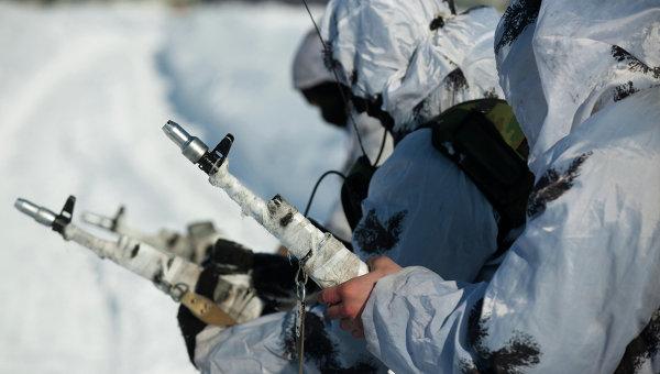 Военнослужащие мотострелковой бригады. Архивное фото