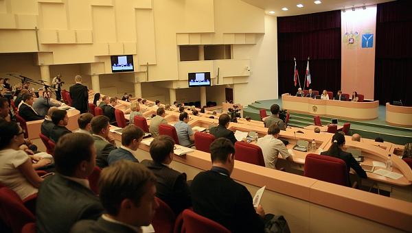 Заседание Молодежного парламента при Государственной Думе. Архивное фото
