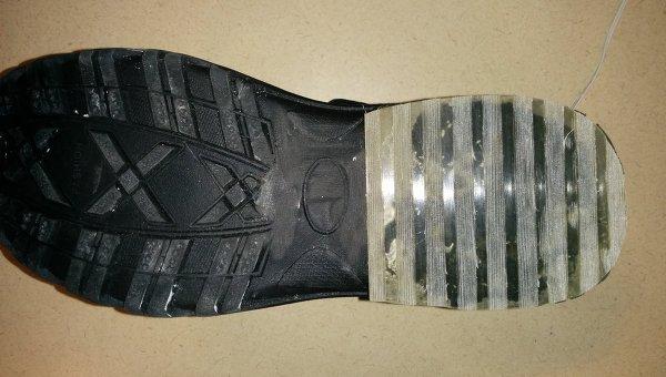 Экспериментальные ботинки с подошвой, не скользящей по льду даже при околонулевых температурах