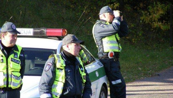 Полиция Литвы. Архивное фото