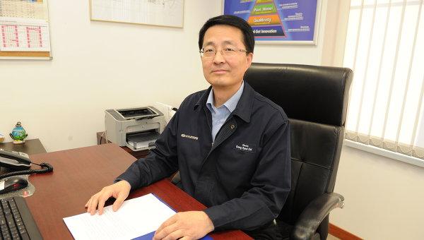 Генеральный директор Hyundai Motor Manufacturing Rus Чой Донг Ель. Архивное фото