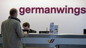 Логотип компании Germanwings. Архивное фото