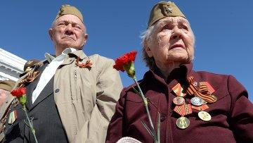 Парад Победы в регионах России. Архивное фото