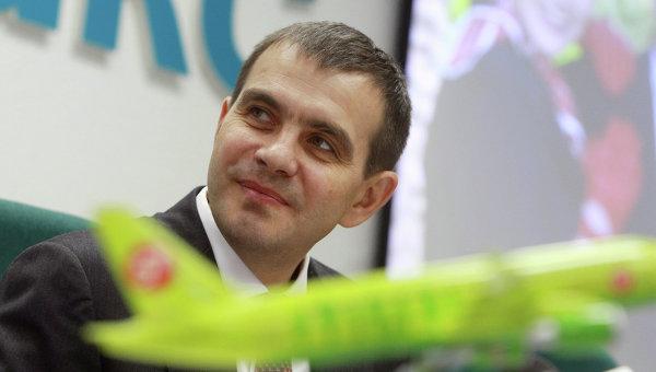 Генеральный директор авиакомпании S7 Airlines Владислав Филев. Архивное фото