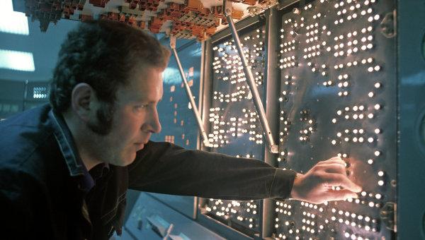 Инженер атомного ледокола. Архивное фото