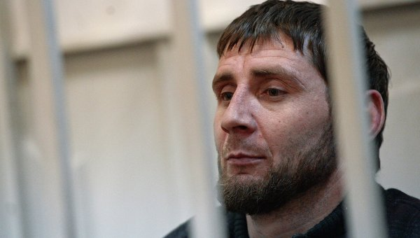 Подозреваемый в убийстве политика Бориса Немцова Заур Дадаев. Архивное фото