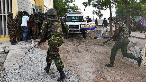 Кенийские военные. Архивное фото