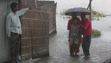 Проливной дождь в Бангладеш. Архивное фото
