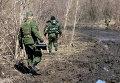 Обезвреживание неразорвавшихся боеприпасов на территории ДНР
