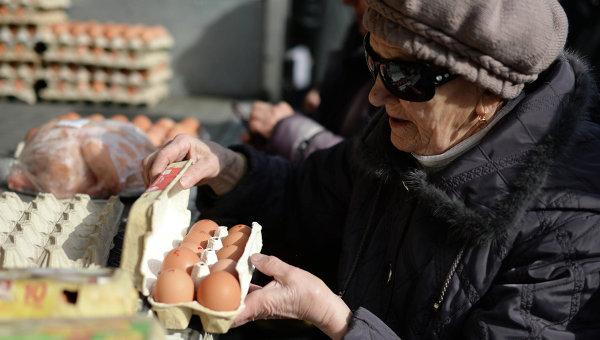 Пенсионерка в Новосибирске. Архивное фото