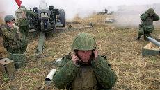 Солдат-артиллерист группировки Федеральных сил Геннадий Паньков