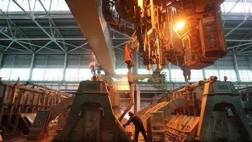 Производство алюминия на предприятиях компании РУСАЛ. Архивное фото