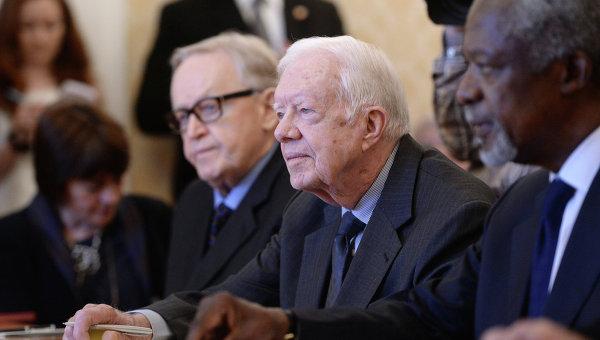 Экс-президент США Джимми Картер. Архивное фото