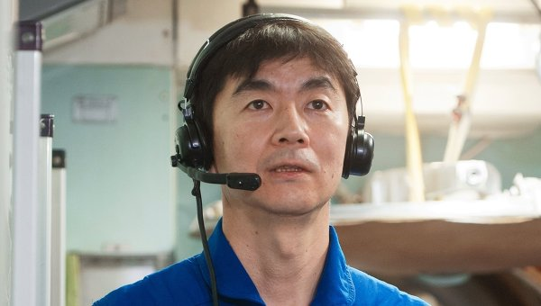 Астронавт Кимия Юи. Архивное фото