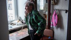 Ветеран Великой Отечественной войны, минометчик Александр Черняев. Архивное фото