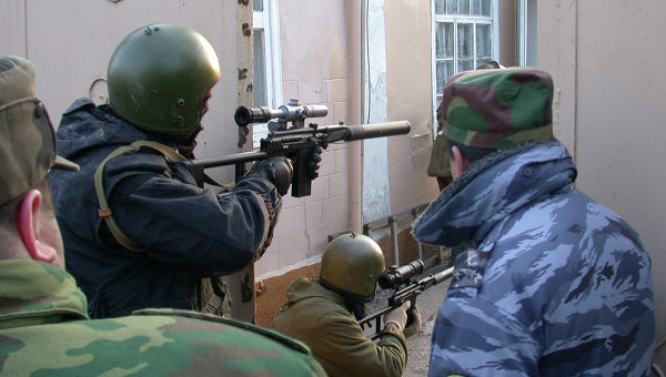 Дагестанская полиция, архивное фото