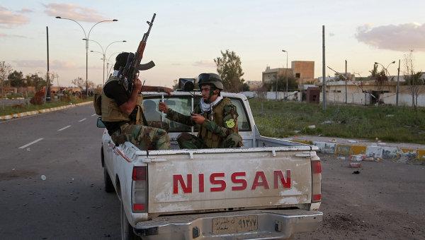 Патрулирование улиц Тикрита, Ирак. Архивное фото