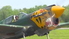 Самолеты США времен Второй мировой взмыли в небо в честь 70-летия Победы